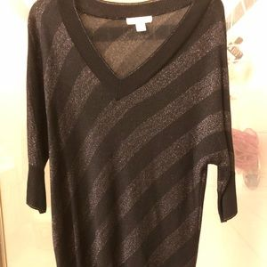 Coldwater Creek shimmer sweater